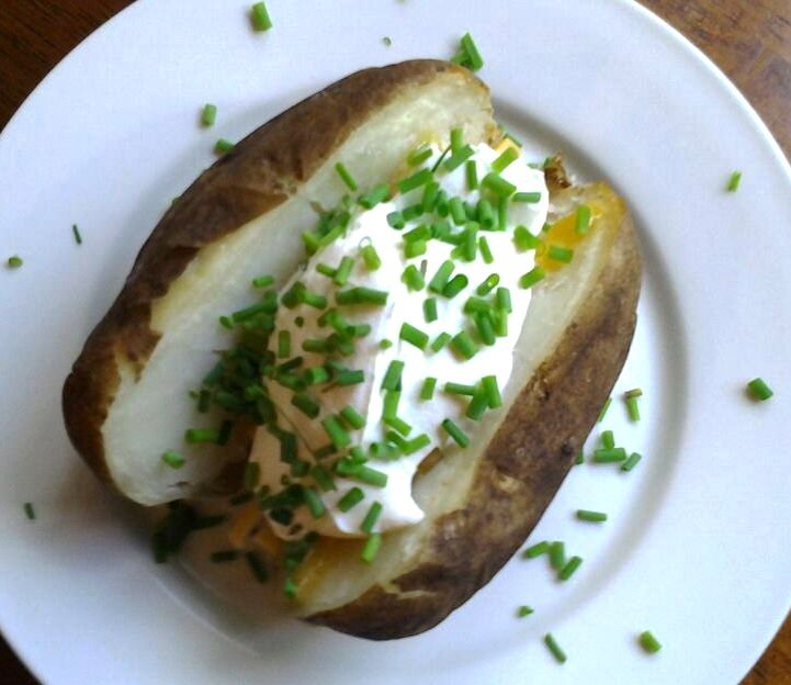 G-Free Baked Potato