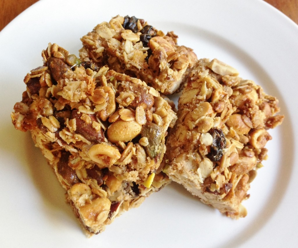 Gluten Free Homemade Granola Bars