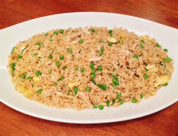Gluten Free Chicken Fried Rice