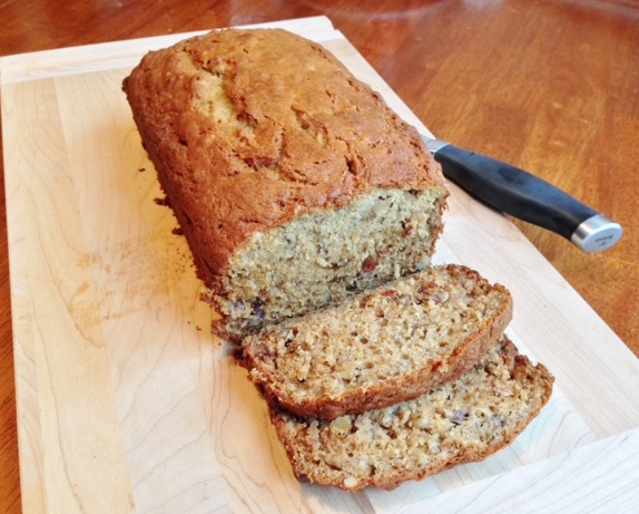 Gluten Free Banana Nut Bread | Gluten Free Recipes+