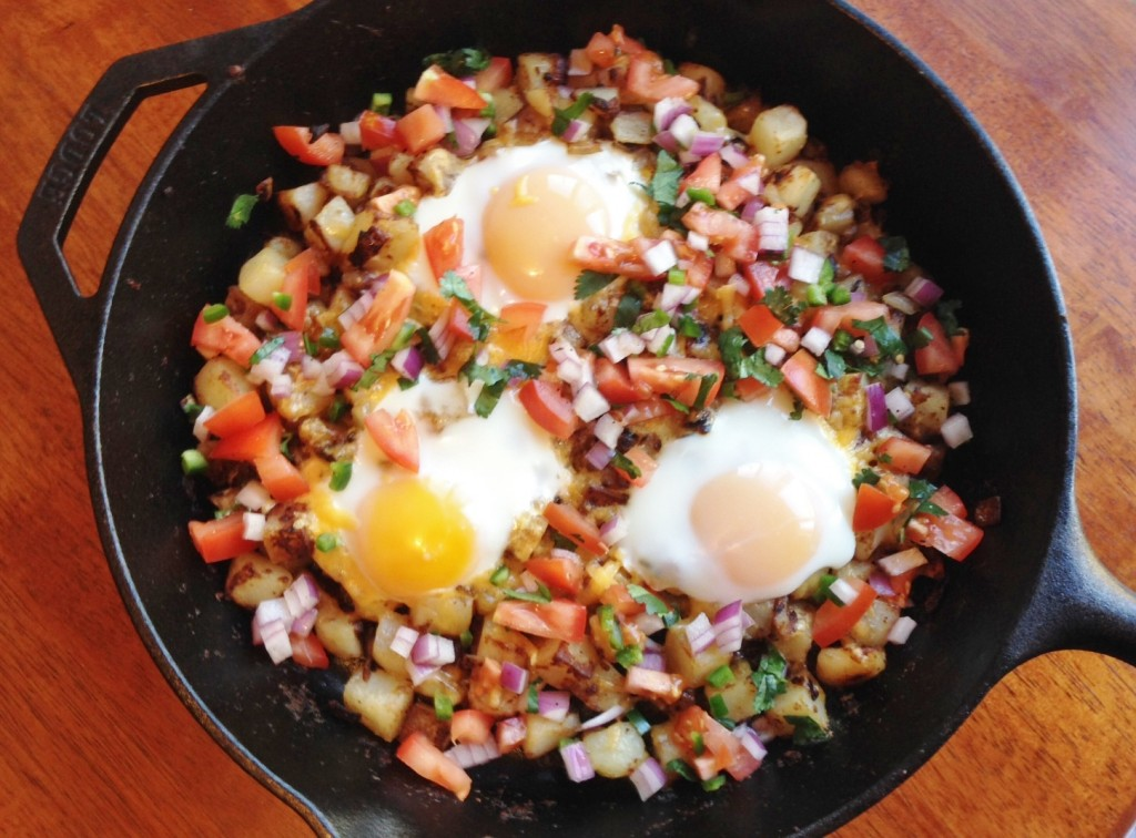 Gluten Free Hash Brown with Eggs