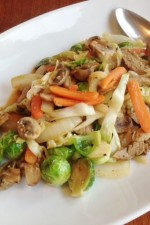 Gluten Free Stirfry Pork with Vegetables