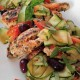 Gluten Free Greek Chicken with Zucchini