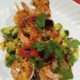 Gluten Free Grilled Shrimps with Avocado Salsa