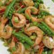 Gluten Free Shrimp Stir Fry with Rice Noodles