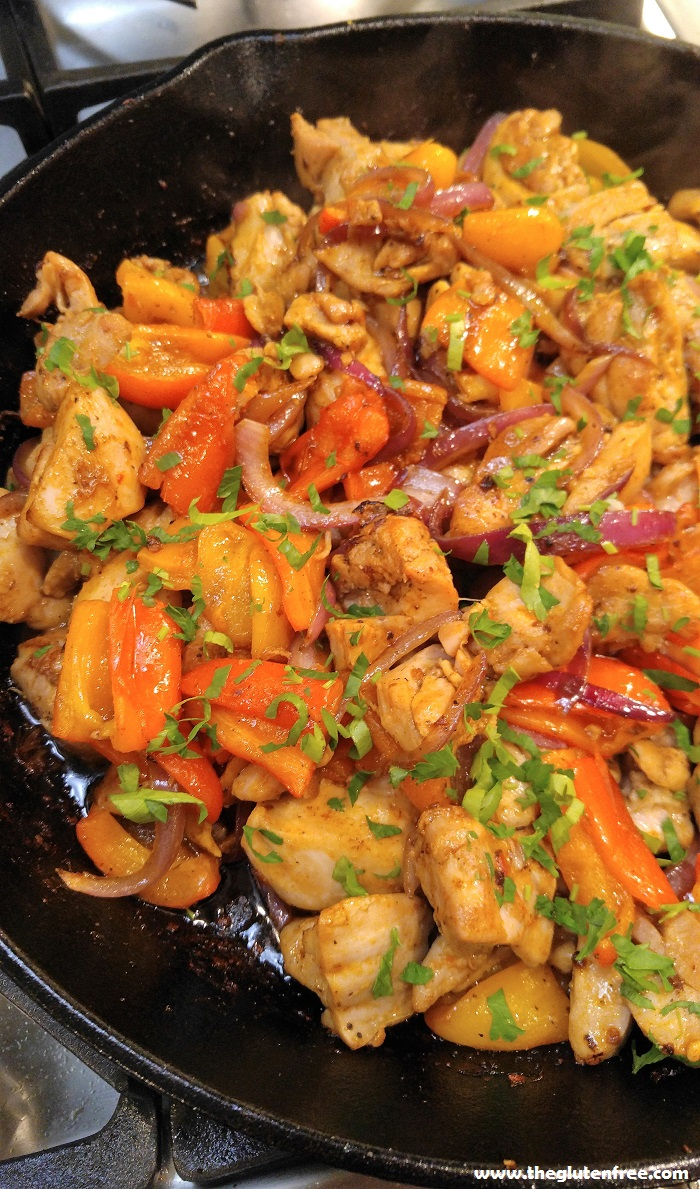 Free Paprika Chicken & Roasted Sweet Peppers | Gluten Free Recipes+