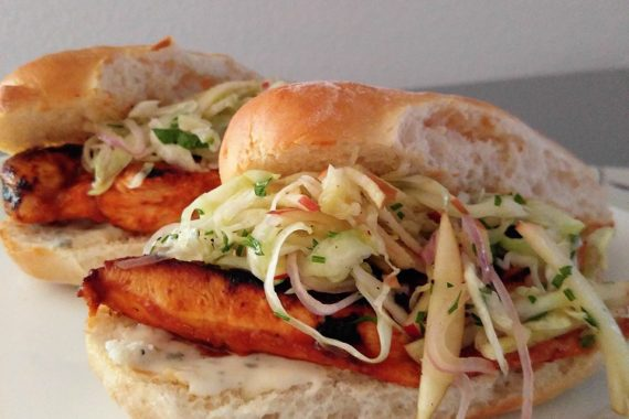 Gluten Free Buffalo Chicken Sandwich