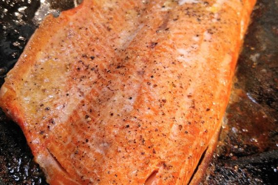Gluten Free Easy Baked King Salmon