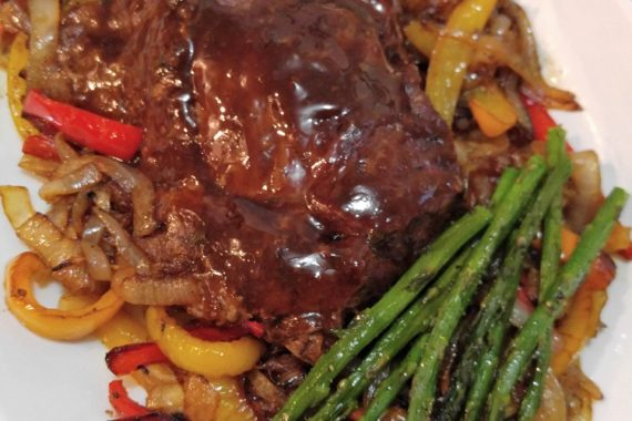 Gluten Free Pot Roast with Caramelized Onions