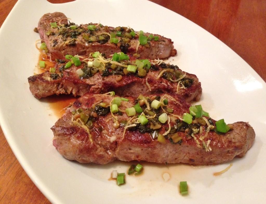 Gluten Free Steak Diane