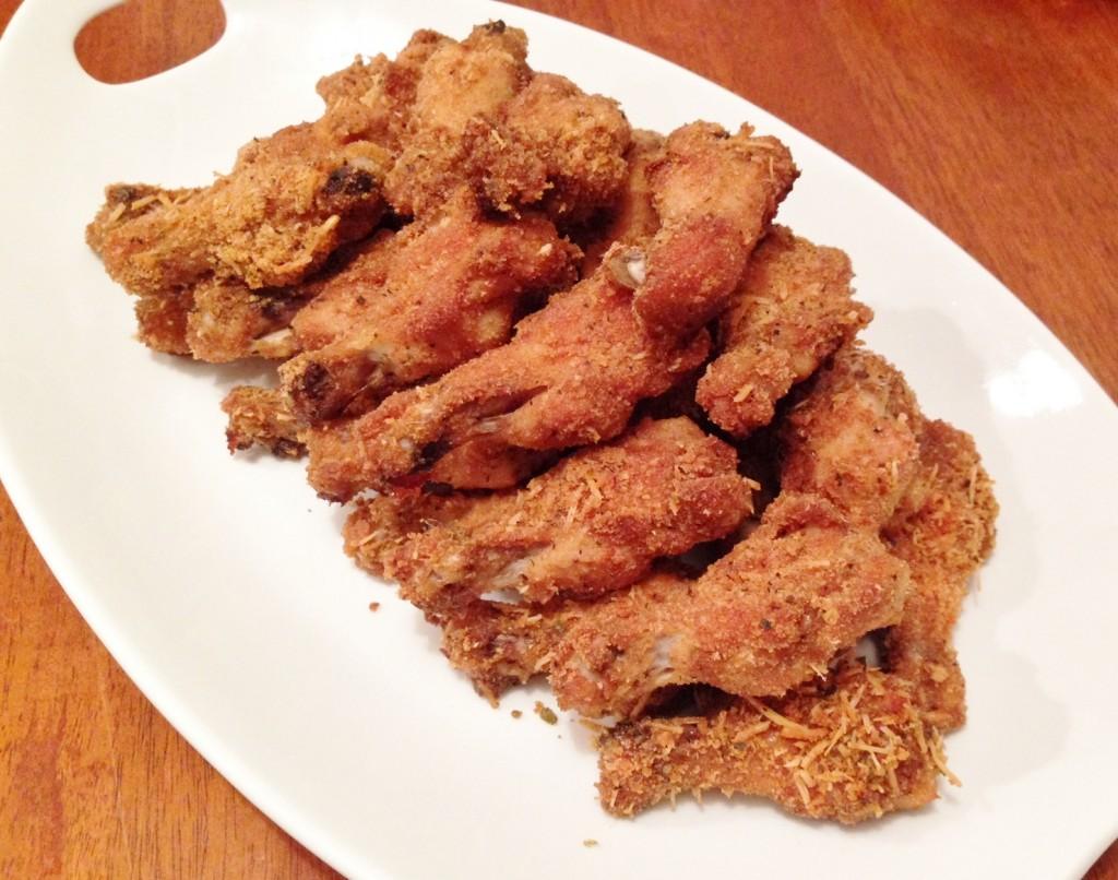 Gluten Free Cheesy Chicken Wings