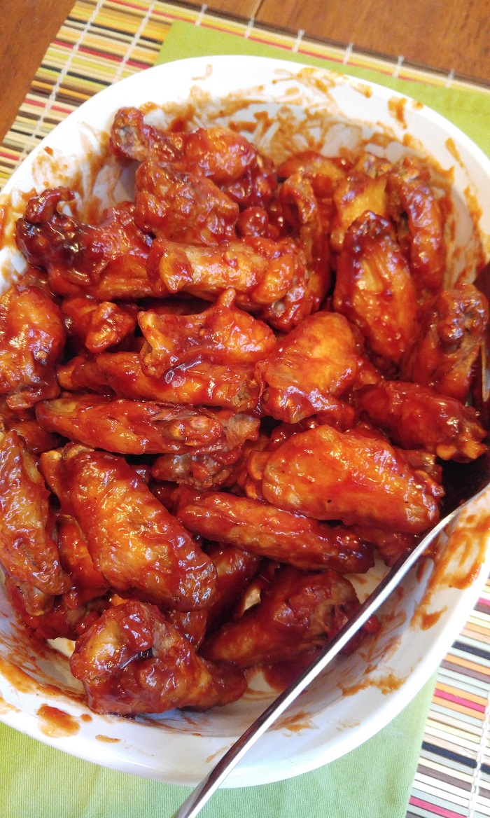 Gluten Free Barbecue and Habanero Spicy Wings | Gluten ...
