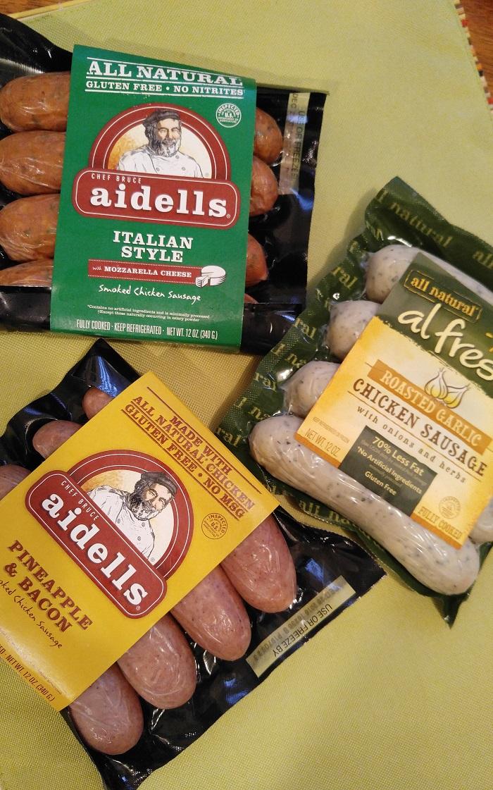 Gluten Free Sausage List