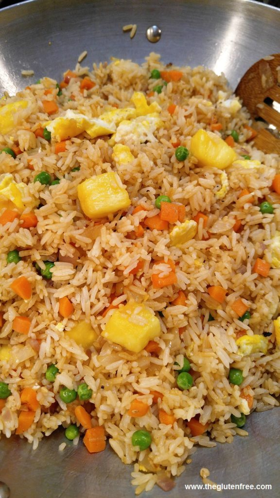 Gluten Free Easy Pineapple Fried Rice The Gluten Free